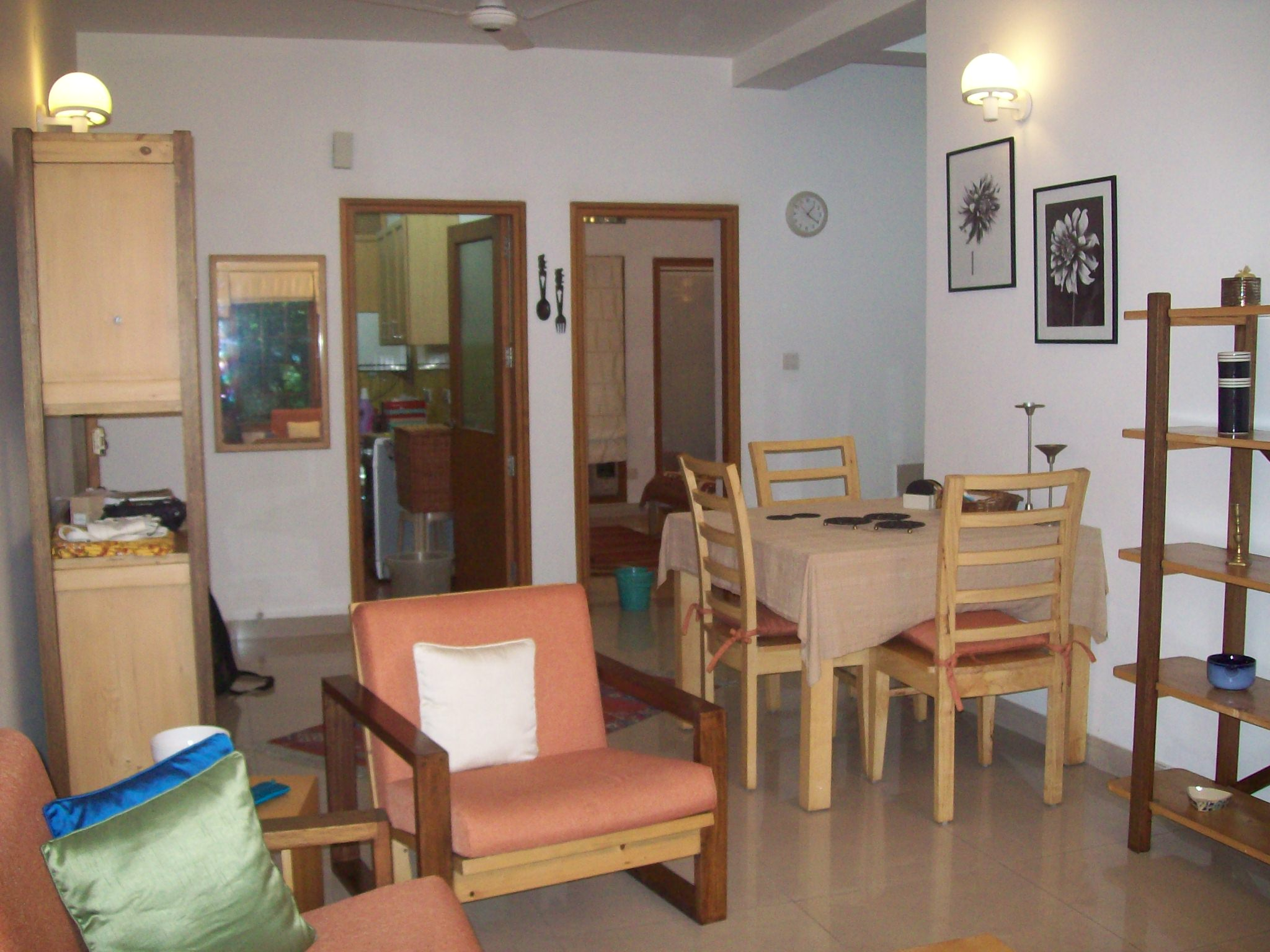 The Caravanserai apartments are Located in and around vasant kunj, vasant vihar and shanti kunj  This  two-bedroom serviced apartment is 0 sq.m ,  and can sleep 5 people maximum.  The apartment has 1