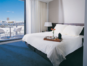 Escape to Darling Harbour and enjoy five star accommodation at the residence. The property is located at King Street Wharf, an easy walk to Sydney's major tourist attractions, entertainment venues and
