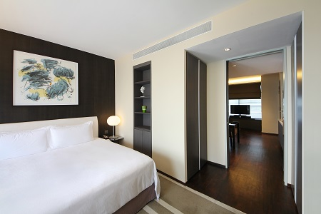 Pan Pacific Serviced Suites Orchard, Singapore